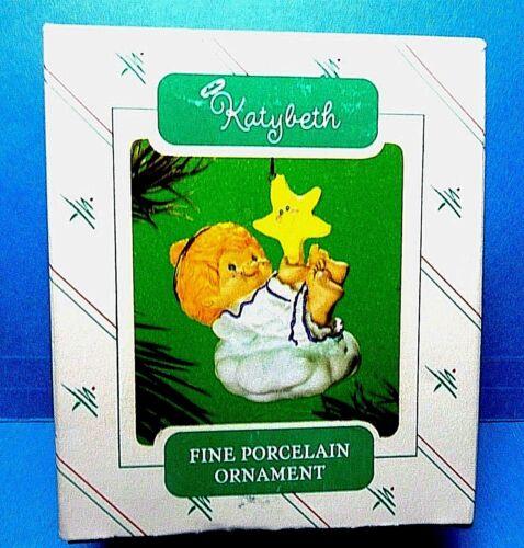 "Hallmark /""Katybeth/"" Ornament 1986"