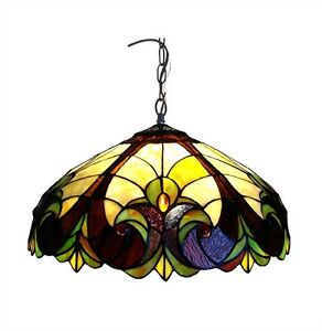 Details About Handcrafted 18 Tiffany Style Kitchen Dining Ceiling Pendant Light Fixture