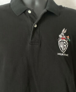 Vintage Bugs Bunny Looney Tunes Warner Bros Polo Shirt