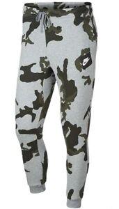 great look new products 100% quality Détails sur Homme Neuf Nike Camouflage Survêtement Pantalon De Jogging  Survêtement Sweat Pantalon-Gris- afficher le titre d'origine