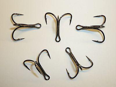 25 Mustad KVD-Elite Triple-Grip Treble Hooks TG58NP-BN UltraPoint Size 4 58