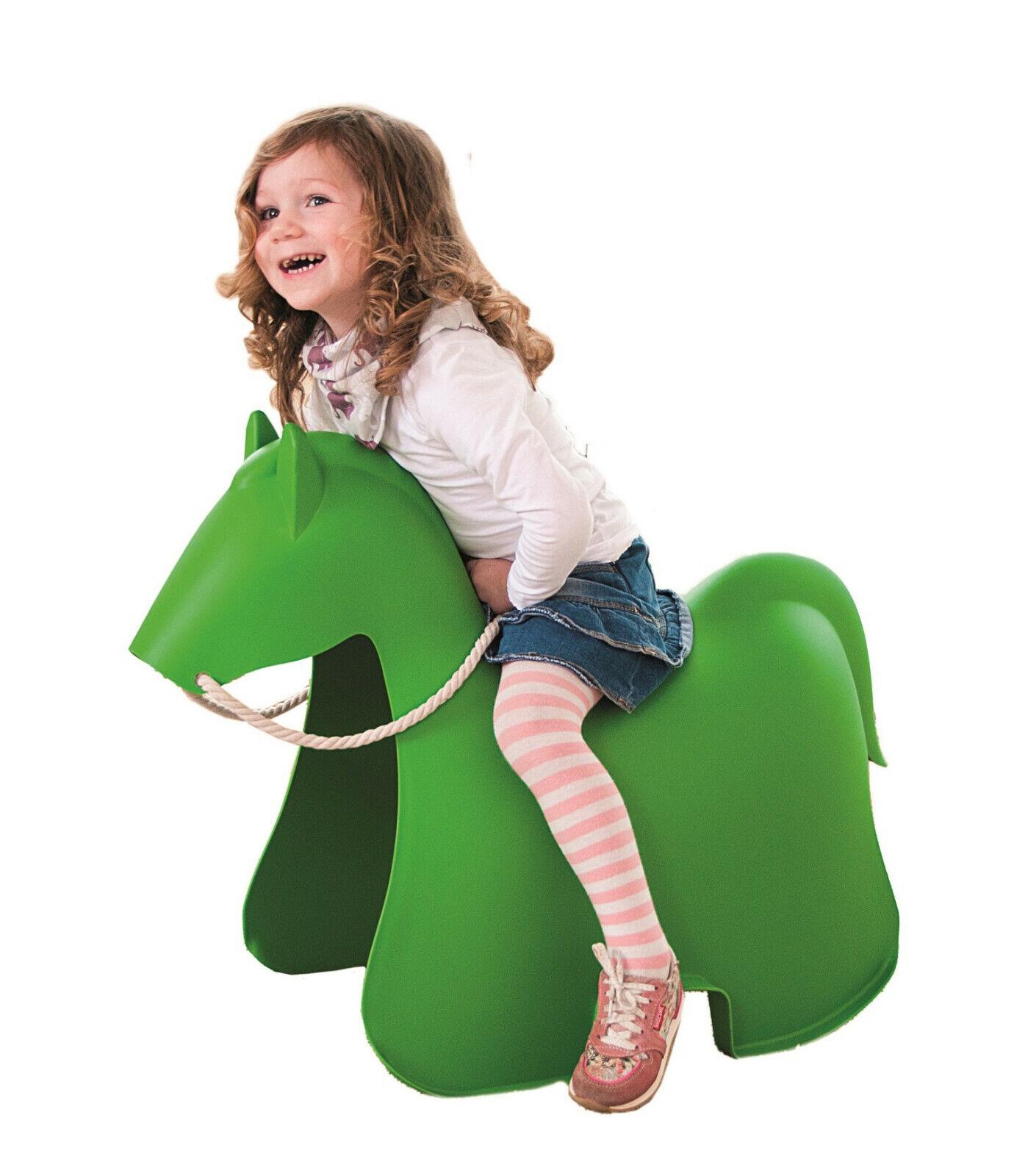 Pony grün für drinnen und draußen Reittier Pferd
