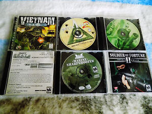 Details about 6X LOT PC Delta Force 2,NAVY SEALS,SOLDIER OF FOTUNE  HELIX,GREEN BERETS,VIETNAM