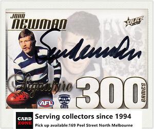 2012-Select-AFL-Champions-Signature-300-Game-Case-Card-CC44S-Sam-Newman-RARE