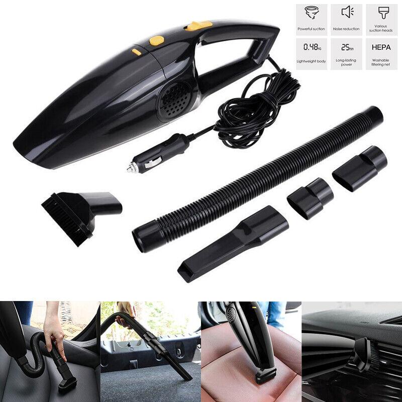 Aspirapolvere per auto 120W per auto Mini Handheld Wet Dry piccolo portatile DETECTIVE COMICS 12V