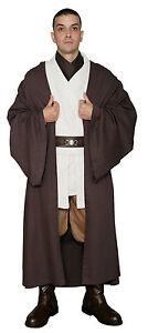 Star-Wars-Obi-Wan-Kenobi-Costume-Dark-Brown-Jedi-Robe-Film-Set-Quality-from-UK