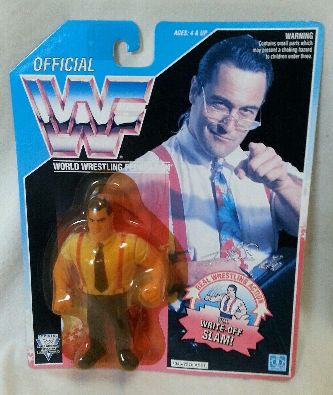 WWF-Lutteur IRS Irwin R Série Schyster 5  Hasbro non ouvert MOC figure 1992 WWE  10 jours de retour