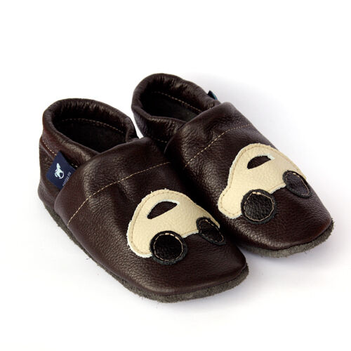 Pantau Leder Babyschuhe Lauflernschuhe Krabbelschuhe Lederpuschen mit Auto