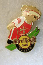 WARSAW,Hard Rock Cafe Pin,Sport Bear Series
