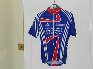 Team-GB-SKY-London-2012-PDP-Rider-Issue-cycling-bike-shirt-jersey-Adidas