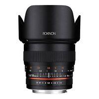 Rokinon 50mm F1.4 Lens For Sony Alpha A Mount Dslr Cameras - Model 50m-s