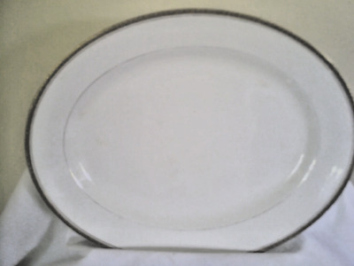 Rare Antique 14 Oval Platter Maddock Sons Ltd Royal Vitreous England Ebay