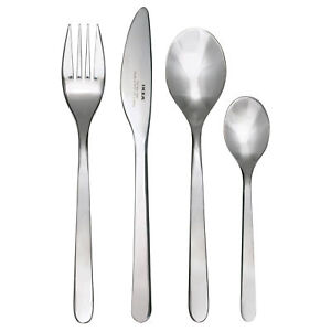 24-PC-STAINLESS-STEEL-CUTLERY-SET-TABLEWARE-DINING-KNIVES-FORKS-SPOONS-by-IKEA