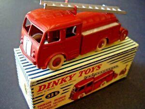 Dinky Toys 32e Berliet Pompiers Premiers Secours Boite D'origine