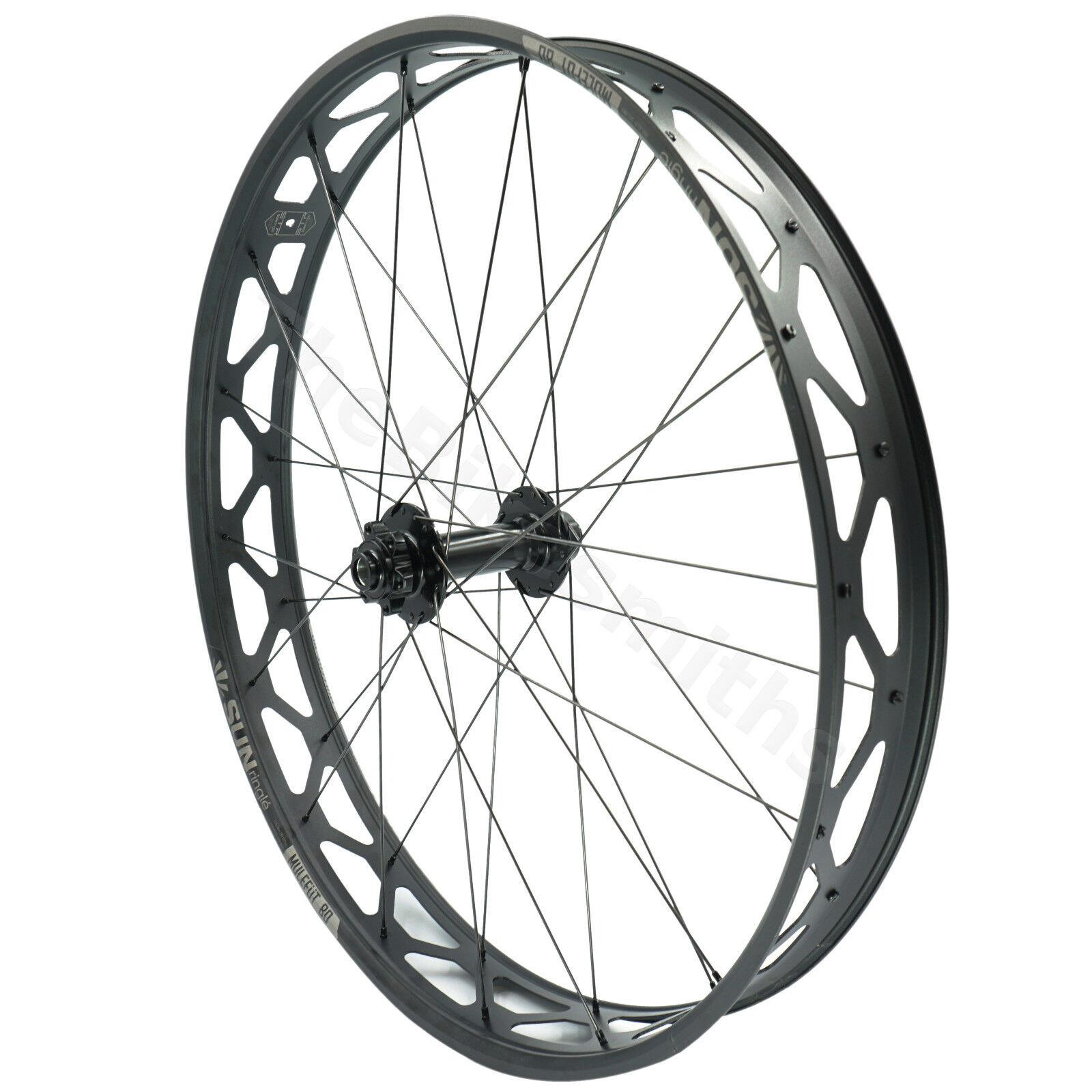 Sun Ringle MULEFUT V2 15x150 FORMULA Thru Axle Fat Bike FRONT Wheel fit blueeto