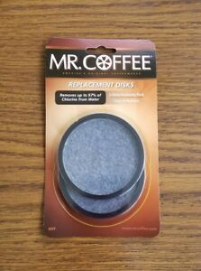 2 Pack MR. COFFEE Water Filter REPLACEMENT DISC New 72179224945 | eBay