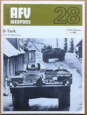 AFV Weapons #28 - S-Tank - Profile Publ. '70 - carri armati blindati esercito