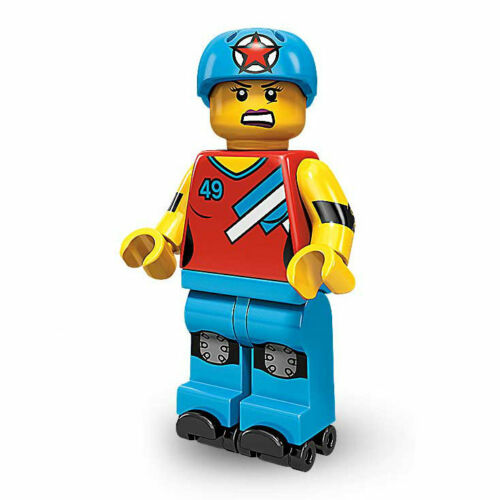 NEW Minifig Skates Collectable Minifigure Series 9 LEGO Roller Derby Girl