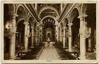 1930/40 Roma Interno Basilica S. Cuore Gesù castro pretorio Frascati FP B/N VG