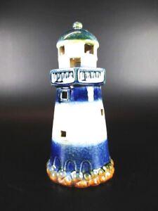 Zeevaart, marineobjecten Leuchtturm Westerhever,10 cm aus Keramik Glanzoptik Souvenir Modell,Neu Verzamelingen