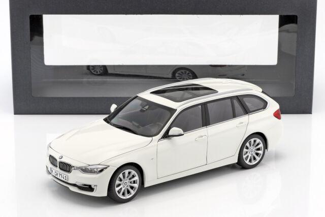 Bmw 3 series Touring (f31) año de fabricación 2012 blanco 1:18 paragonmodels