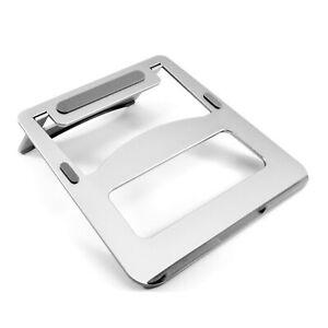 Desire2-Laptop-Vertical-Desk-Stand-Portable-Riser-Silver