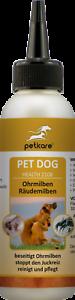 Acariens et gale d'oreille chez le chien - produit spécial pour les oreilles de chien