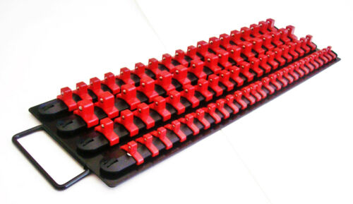 160pc Goliath Industrial Socket stockage plateau Rail Rack Holder Set 1//4 3//8 1//2