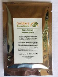 Golberg-Hochleistungs-Brennereihefe-fuer-100-Ltr-Obsmaische-keine-Turbohefe