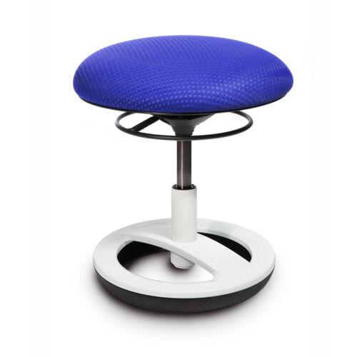 Kinderstuhl Büro Drehstuhl Fitnesshocker Topstar Sitness Bobby blau weiss B-Ware