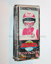 1980's Bandai Power Rangers Change Man Phoneix Action Figure Boxed Chogokin