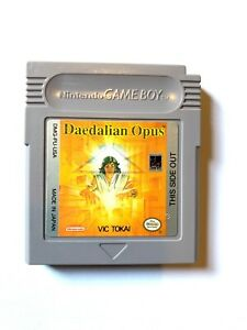 Daedalian-Opus-ORIGINAL-NINTENDO-GAMEBOY-GAME-Tested-WORKING-Authentic
