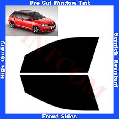 Pre Cut Window Tint Skoda Rapid Spaceback 5 Doors 2013-... Front Sides Any Shade