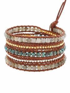 Image Is Loading Chan Luu Labradorite Mix Wrap Bracelet