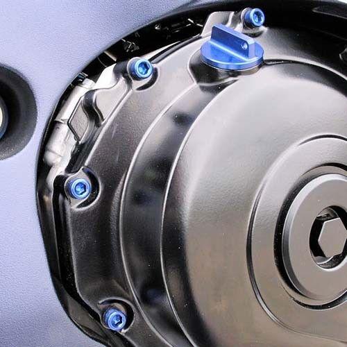 Blue ESU093B Suzuki GSX-R750 K8-L0 08-10 Pro-Bolt Aluminium Engine Bolt Kit