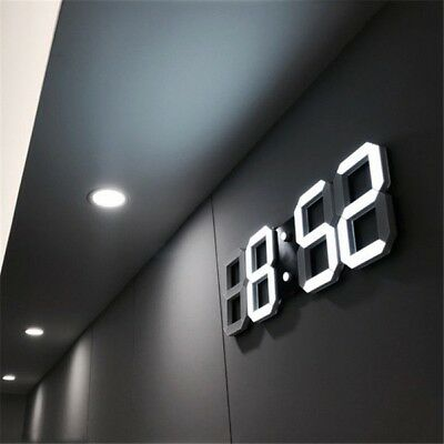 Vernuftig Digitale Led Wanduhr Tischuhr Wecker Mit Alarm Und 3-stufen Dimmbarem Licht Genezen Van Hoest En Het Verlichten Van Slijm En Verlichten Heesheid