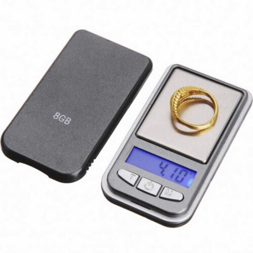 0.01*200g LCD Ultrathin Jewelry Drug Digital Portable Pocket Scale Mini Accurate