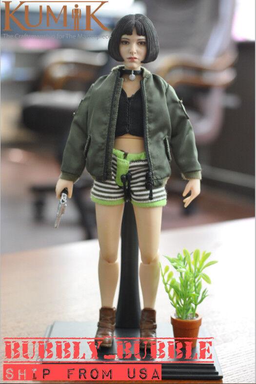 1 6 Natalie Portman Léon The Professional Mathilda Girl Figure Full Set USA