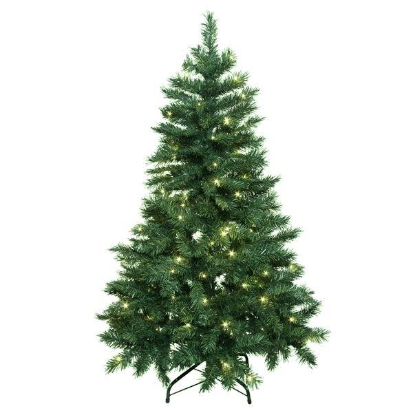 Tannenbaum Beleuchtet Aussen.Led Weihnachtsbaum 210 Cm Tannenbaum 260 Leds Warmweiß Innen Außen