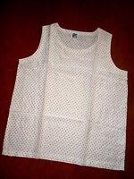 Exkl. sommerliches Top - ärmellose Bluse aus Reiner Seide Gr. L v. CAMICIA neuw.