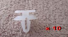 JAGUAR XF FASTENER PUSH IN REPAIR TRIM CLIPS 10PCS