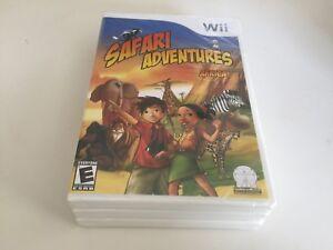 Safari-Adventures-Africa-Nintendo-Wii-2009-Wii-NEW