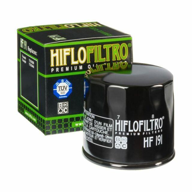 Hiflofiltro HF191 Oil Filter Peugeot Scooter 400 Metropolis 13-18