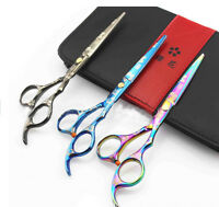 "5.5"" 6.0'Salon Cutting Scissors Hair Barber Shears Professional Hairdressing New"