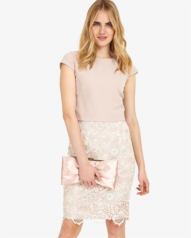 Phase Eight Judie Lace Dress Cameo Größe UK 14 rrp rrp rrp  DH079 MM 10 | Hohe Qualität und geringer Aufwand  | Moderne Technologie  | Qualität Produkte  f0d216