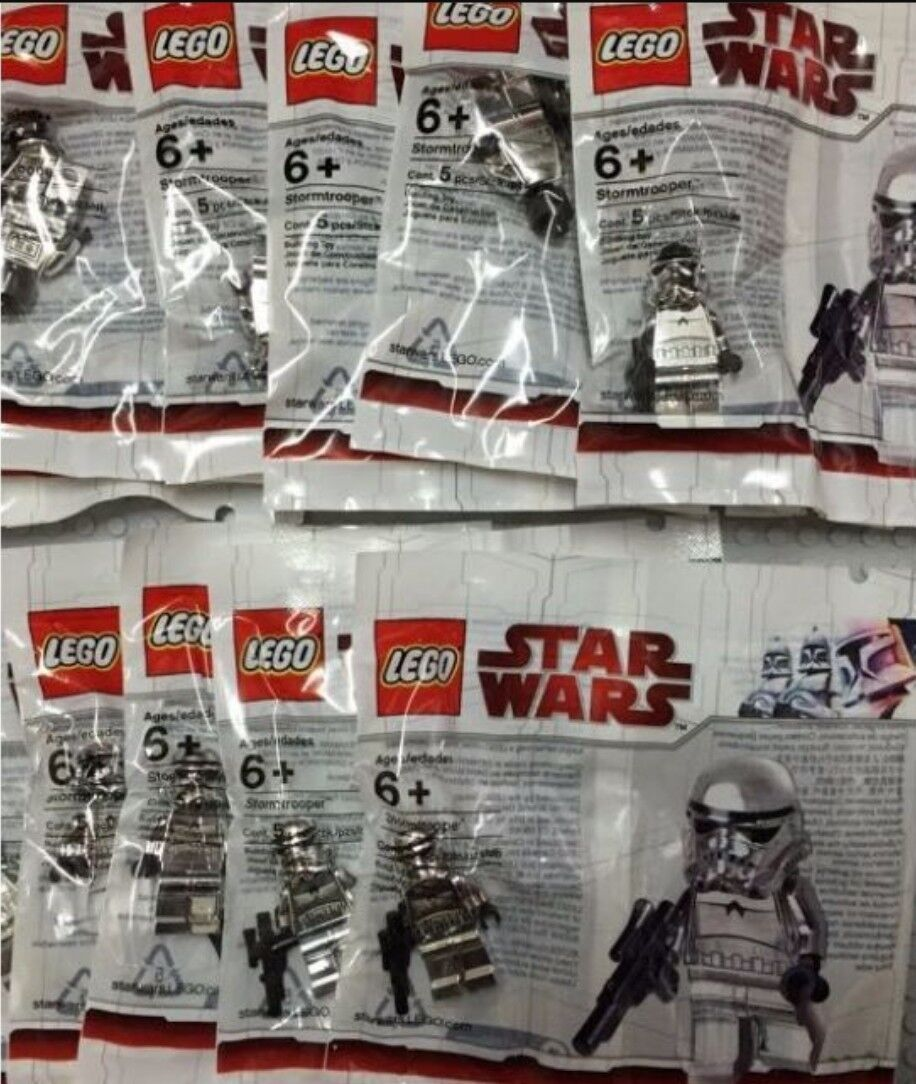 LEGO Star Wars Chrome  Stormtrooper nouveau Factory Sealed Mint Collectors Condition  aucune hésitation! achetez maintenant!