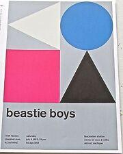 Beastie Boys Mini-Poster Concert Reprint Detroit MI 1993-13X10 Framable Artwork