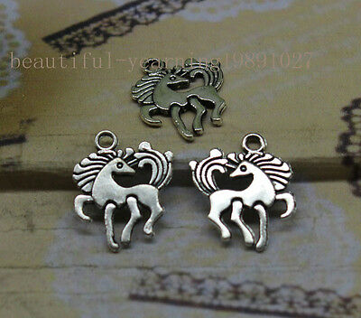 wholesale25/75pcs Look back horse alloy of fashion and personality charm pendant
