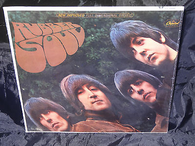 Beatles Rubber Soul Sealed Vinyl Record Lp USA 1965 Orig Capitol ST 2442 Riaa 8