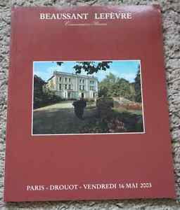 CATALOGUE-VENTE-2003-BEAUSSANT-DROUOT-MOBILIER-CHATEAU-LANGUEDOC-LIVRES-ESTAMPES